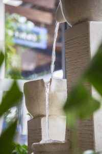 Water Dripping From Clay Pot into Another | Tara Massage